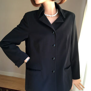 The Limited High Collar Black Jacket Excellent